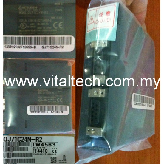 Mitsubishi Communication Module QJ71C24N-R2