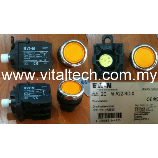 Eaton Command Switch A22 Rd X