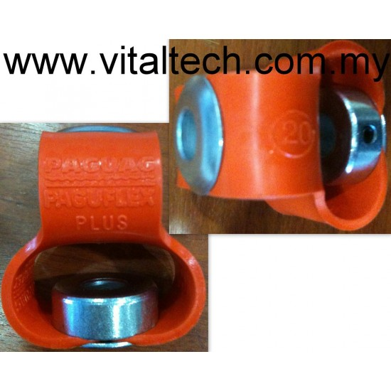 PAGUAG Paguflex Plus Shaft Coupling  Bore 10mm Size 20-10mm