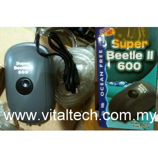 Ocean Free Air Pump Super Beetle 600