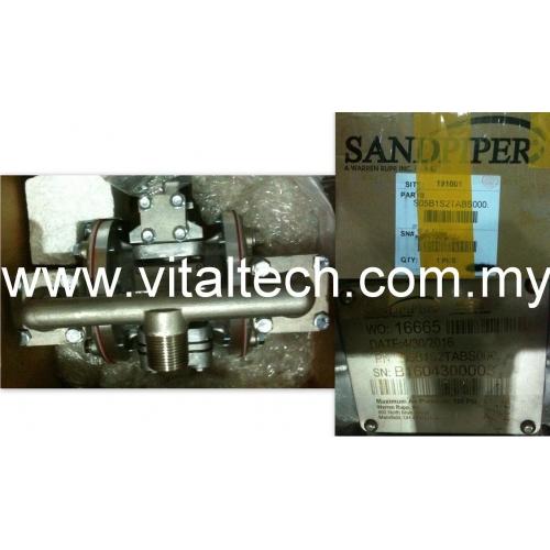 Sandpiper diaphragm pump s05b1s2tabs000 ccuart Images